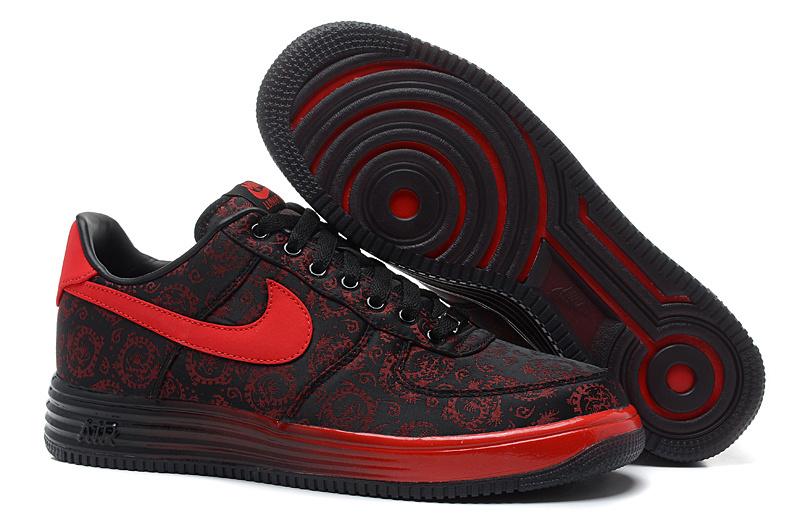 nike air force 1 noir et rouge